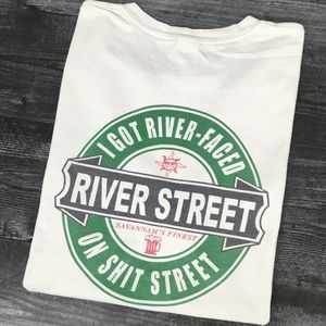 Vintage Sh** Faced On River Street T-shirt